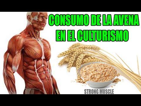 CONSUMO DE LA AVENA EN EL CULTURISMO