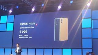 Huawei Keynote 2018, Part 2