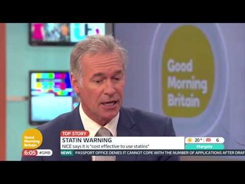 Dr Hilary On The Statin Warning   Good Morning Britain