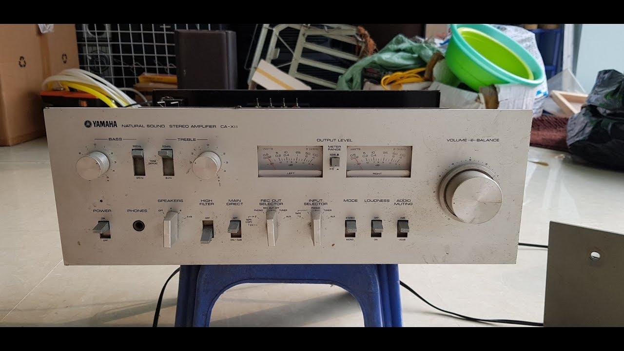 Amply nghe nhạc yamaha CA-XII cũ giá rẻ chỉ 800 k || 0985418496
