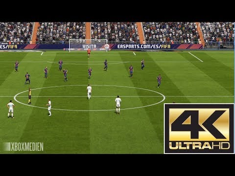FIFA 18 Real Madrid vs Barcelona El Clasico 4K (Xbox One, PS4, PC)