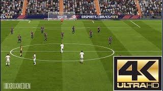 FIFA 18 Real Madrid vs Barcelona El Clasico 4K (Xbox One, PS4, PC)
