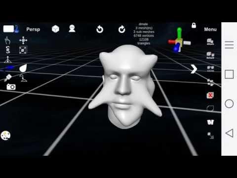 d3D Sculptor tutorial - Basic - Sculpting