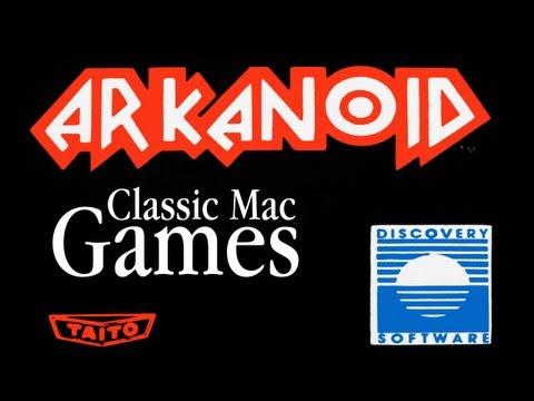 Arkanoid For Macintosh - Mini Review - Classic Mac Games