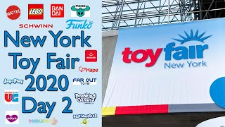 NYC Toy Fair 2020 Day 2: Walkthroughs of My Favorite Toy Companies