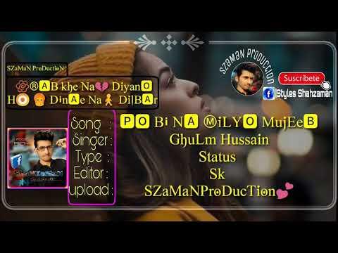 Ghulam Hussain Umrani | Hy Re Assan Ja Naseeb | Album 29 | Sindhi Best Songs |  Status