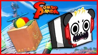 Unbox Newbie's Adventure Cardboard Fun Let's Play with Combo Panda thumbnail