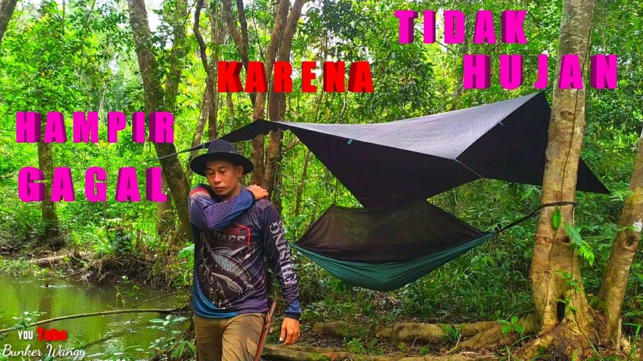 BUSHCRAFT INDONESIA FISHING OVERNIGHT - CAMPING INDONESIA FISHING OVERNIGHT - KINFE GURKHA/KUKRI
