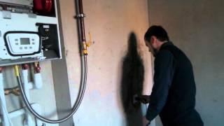 Запуск газового котла Baxi