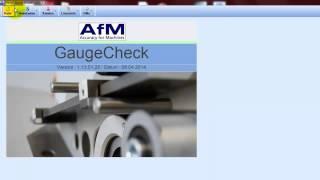 AfM GaugeCheck Übersicht