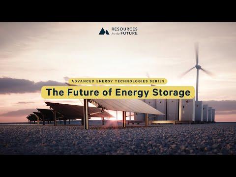 RFF's Advanced Energy Technologies Series: The Future of Energy Storage