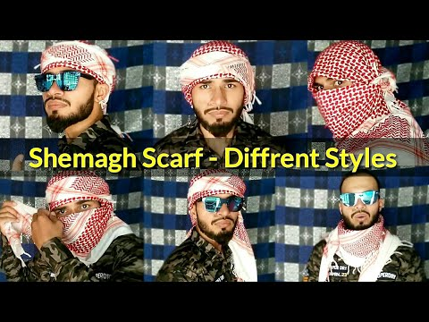 Eid Special - How To Tie Shemagh Scarf | Different Styles Tutorial | AL Aamir Khan