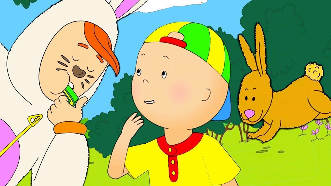 Caillou en fran ais caillou et les lapins dessin anim dessin anim pour b b nouveau - Scoubidou en dessin anime ...