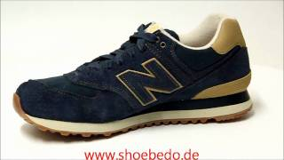 on sale 19ba7 77f42 New Balance Sneaker ML574WKN Workwear Pack Navy