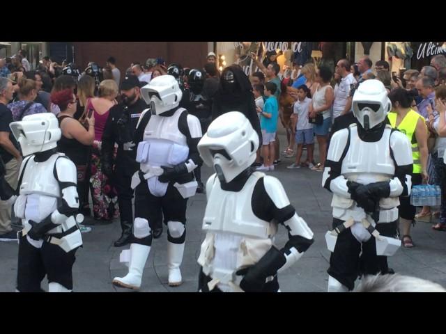 Desfile de Star Wars en Salamanca