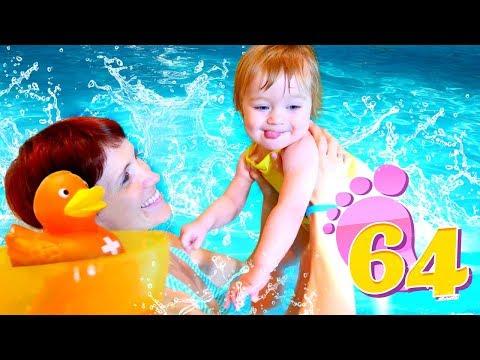 Привет, Бьянка - Бьянка учится плавать в бассейне в Турции.
