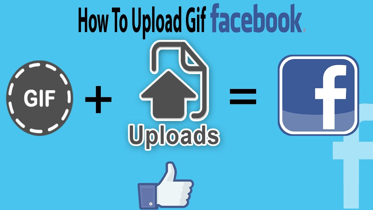 How to upload a gif in facebook upload animated gifs on facebook how to upload a gif in facebook upload animated gifs on facebook negle
