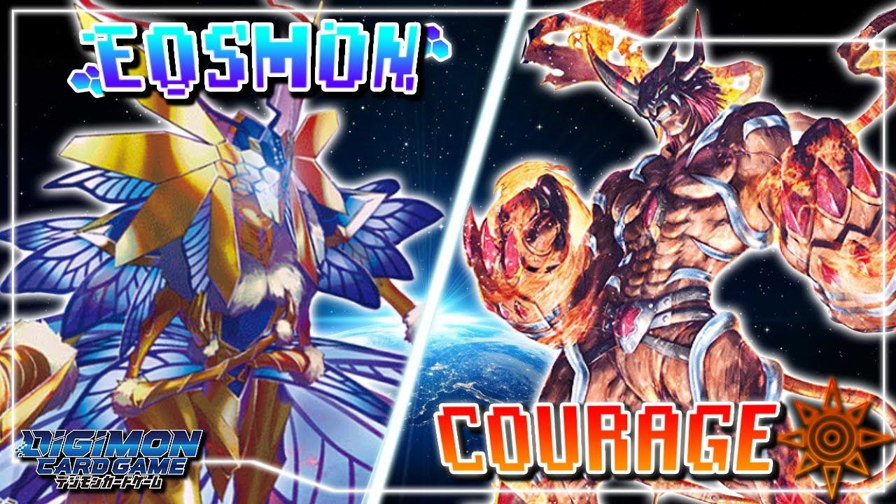 Digimon Card Game : EOSmon (Green) VS Bonds of Courage (Red)