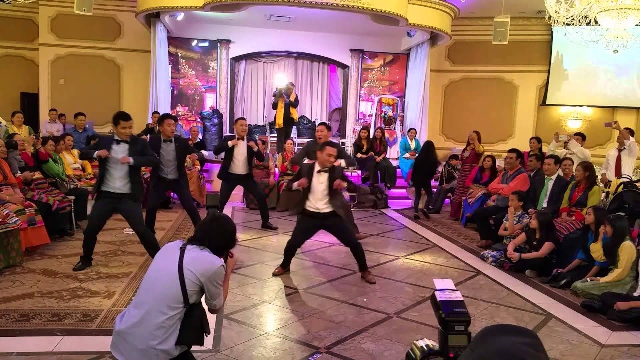 surprise groomsmen dance at nepali wedding youtube