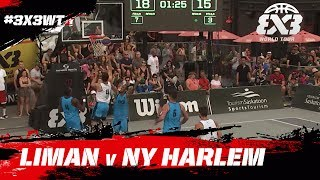 Liman vs NY Harlem | Game of the Day | FIBA 3x3 World Tour Saskatoon Masters 2017