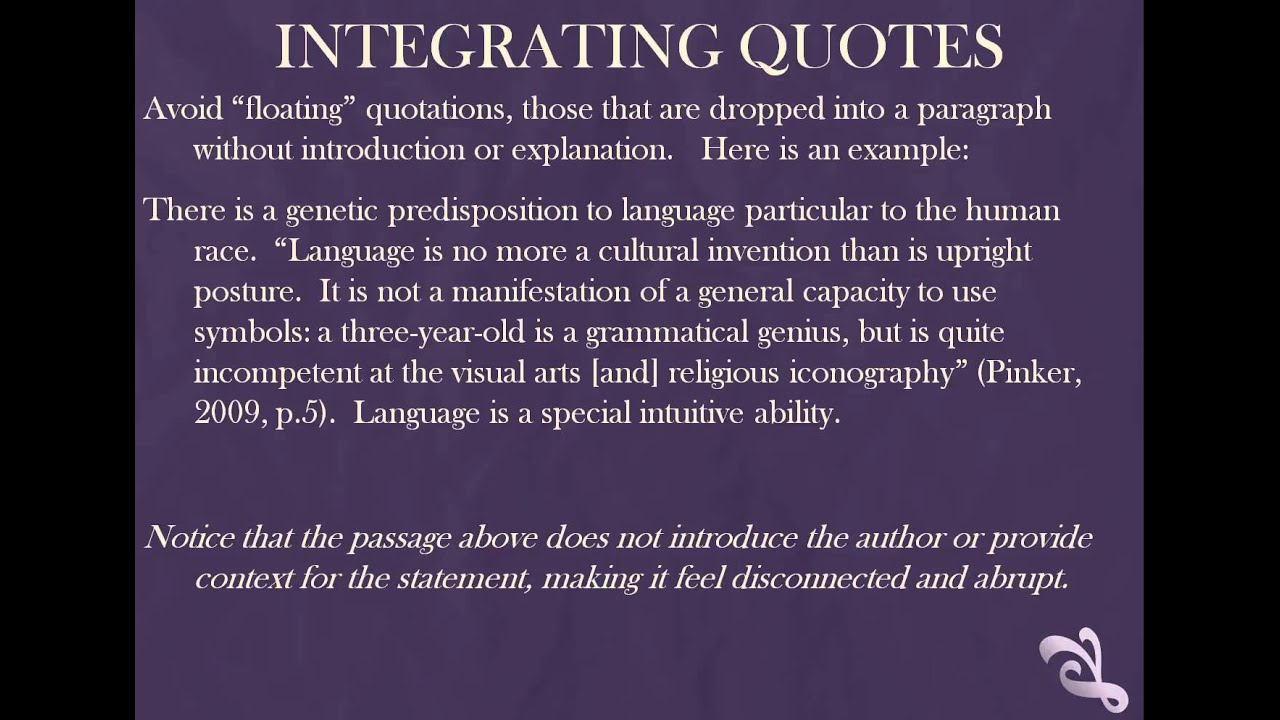 integrating quotes integrating quotes