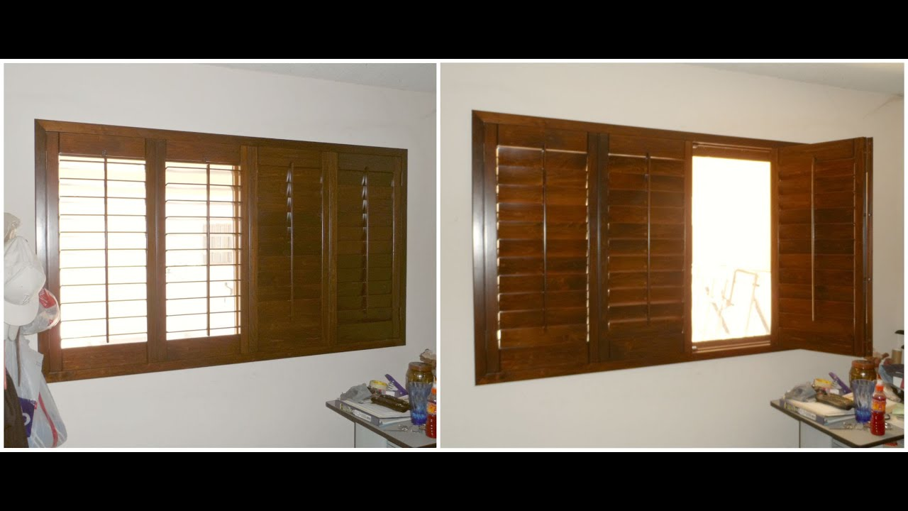 Shutter de madera plegable youtube - Puertas exterior malaga ...