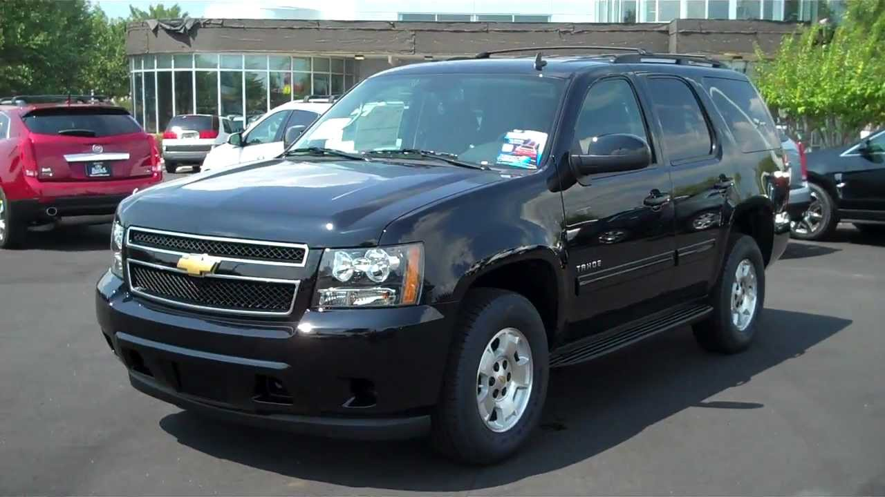 2013 chevrolet tahoe black ls rock hill sc burns cadillac chevrolet youtube