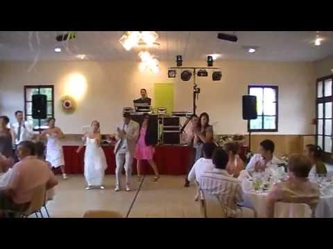 l'entrée des mariés et témoins dans la salle de réception. - youtube