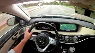 Intelligent Drive in the 2018 Mercedes-Benz S560 4Matic