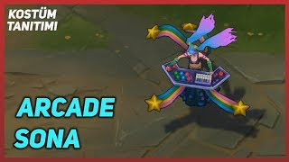 Arcade Sona (Skin Preview) League of Legends