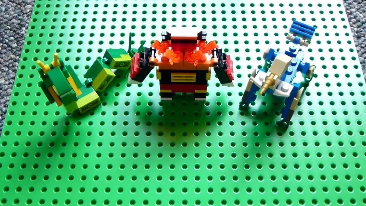 Lego pokemon instructions part 13 serperior emboar - Lego pokemon rayquaza ...