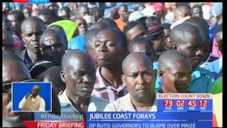 Deputy President William Ruto blames opposition and Governors for propagating the Maize issue