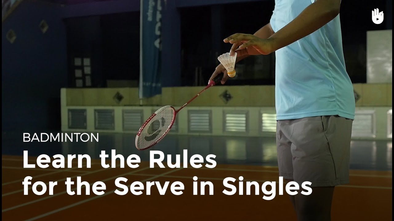 Badminton Rules and Regulations explained - ActiveSG