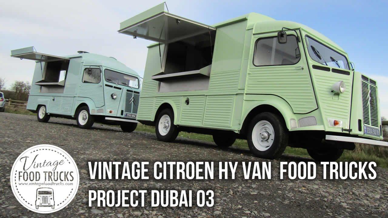 Vintage Citroen HY Van Food Trucks