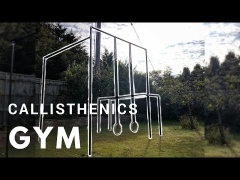 Building a Homemade DIY Callisthenics Gym!