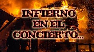 INFIERNO EN EL CONCIERTO_video/audio real, INCENDIO escalofriante!!!!