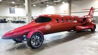 Лимузин-самолёт, для тех, кто боится летать