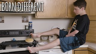 I Use My Feet As Hands | BORN DIFFERENT