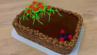 5 kq sokoladli bomba Sokoladli tort resepti Очень вкусный шоколадный торт