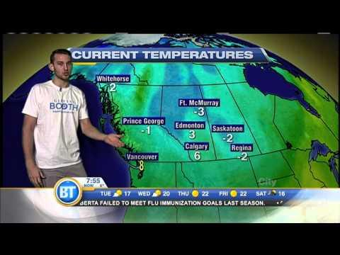 NBA Player Nik Stauskas Does The Weather - September 22nd