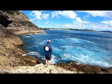 Rock Fishing North New Zealand!