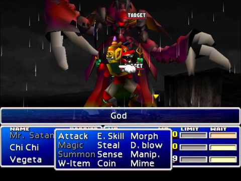 Final Fantasy VII - Hardcore Hack - Trash Weapon, God, Sephi's Yummy Mummy Part 2/2