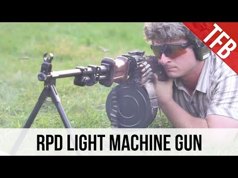The RPD Light Machine Gun: A Belt Fed in an Intermediate Cartridge
