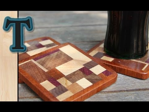 Woodworking Project S Wood Coasters Drink Mats