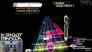 K-Shoot Mania - Anime Madness Vol.1  (DJ Sharpnel Tribute Mix) CLEAR (17 MINUTES LONG)