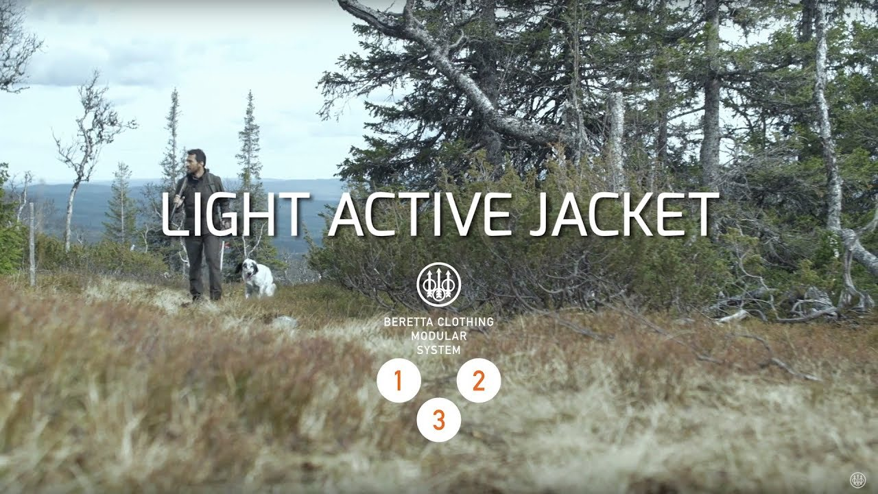 8be929027be04 Beretta Light Active Hunting Jacket - YouTube