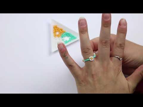 DIY de joyería ♡: Cómo hacer una flor con abalorios