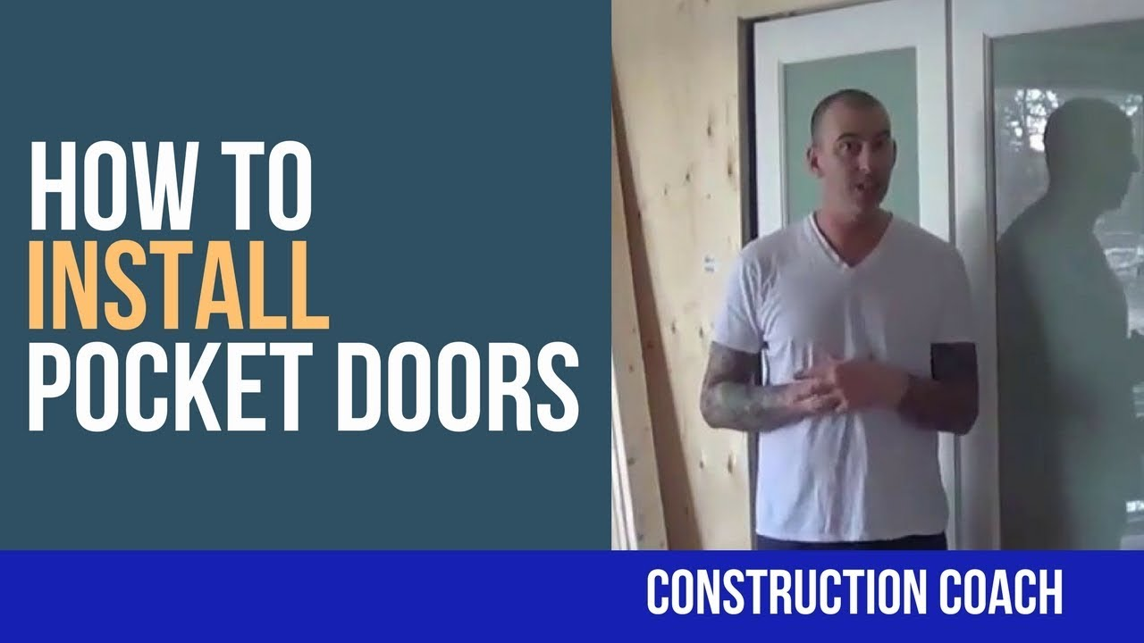 How to repair and replace a pocket door ron hazelton online - How To Install Pocket Doors Youtube