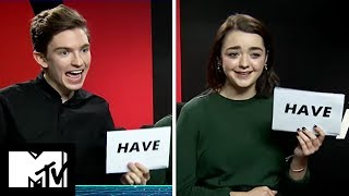 Maisie Williams and Bill Milner Play Never Have I Ever! | MTV