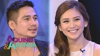 Piolo and Sarah express admiration towards each other